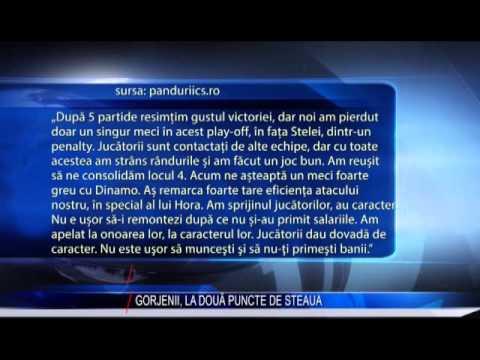 GORJENII, LA DOUĂ  PUNCTE DE STEAUA