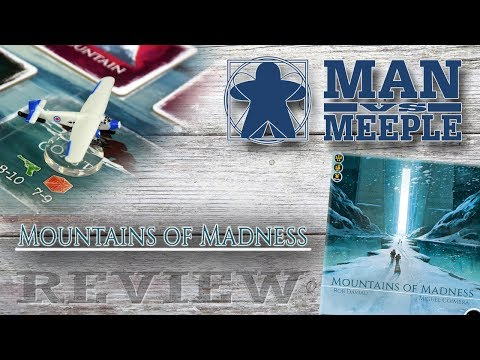 Mountains of Madness (Iello) Review by Man Vs Meeple (видео)