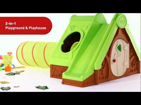 Игровой комплекс Keter Kids Funtivity Play House, May Greenish