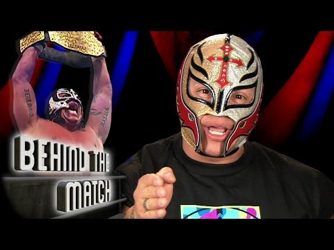 Rey Mysterio  becomes World Champion - Behind The Match 13 December 2013 12 AM