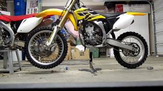 1. Yamaha YZ250F 50th Anniversary Start Up