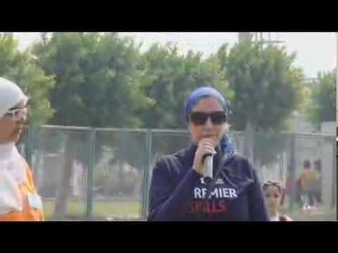 كلمة إفتتاح مهرجان Sports Park للطالبة بسملة والطالبة هبة