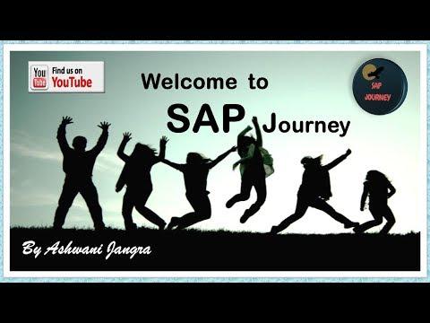 SAP FI Module (Part-13) - Define Document Type & Number Range in SAP FI Hindi Version.