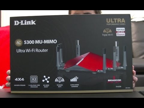 The World's Greatest Router?!? (D-Link AC5300)
