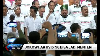 Video Jokowi: Aktivis '98 Bisa Jadi Menteri MP3, 3GP, MP4, WEBM, AVI, FLV September 2019