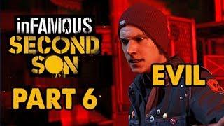 inFamous: Second Son Evil Walkthrough Part 6 - Corrupt Fetch - Evil&Expert Playthrough