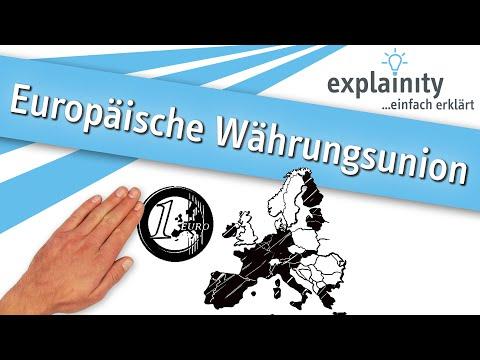 Europäische Währungsunion einfach erklärt