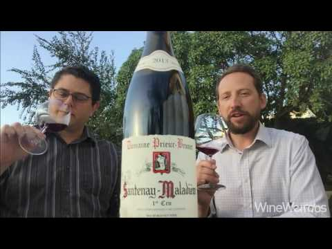 2013 Domaine Prieur-Brunet Santenay-Maladiere 1er Cru H. Mercer Imports French Red Wine