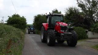 Crossmahon Bandon Macra Charity Tractor Run Sunday July 17th.Thanks to all involved Facebook page: https://www.facebook.com/agrivideoscork