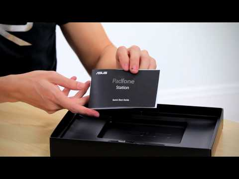 padfone station unboxing - After watching the video read our article here: http://ritchiesroom.com/2012/05/28/asus-padfone-padfone-station-and-stylus/ We take a look at what's inside t...