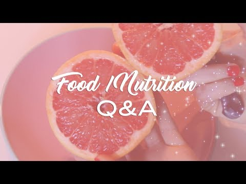 How to lose weight - How do you stay skinny? Guilty food pleasures? In depth FOOD & NUTRITION Q&A   PEACHY