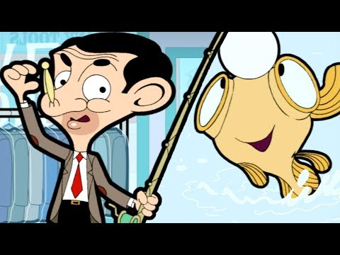 Go Fish Bean (Mr Bean Cartoon) | Mr Bean Full Episodes | Mr Bean Official
