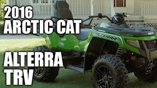 10. TEST RIDE: 2016 Arctic Cat Alterra TRV