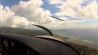 Hawaii Cirrus Flying Adventure. The Flight Academy With Shaun.wmv