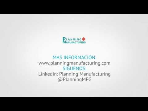 Invitación Planning Manufacturing Day