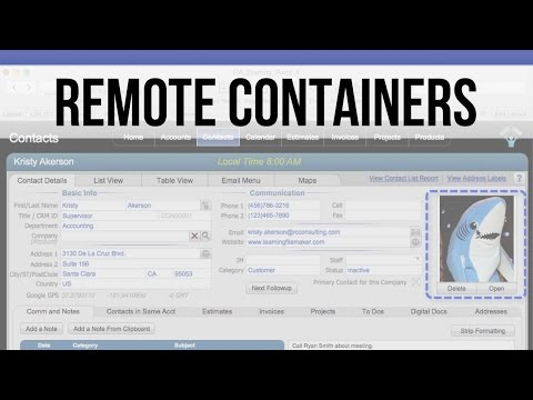 005 Remote Containers