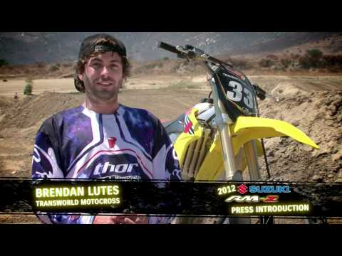 2012 Suzuki RM-Z450 & RM-Z250 Press Intro