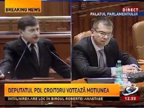 Crin Antonescu - Discurs motiunea de cenzura 27.04.2012