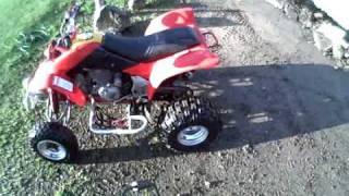 10. 2001 Honda TRX 400 EX Sportrax Quad