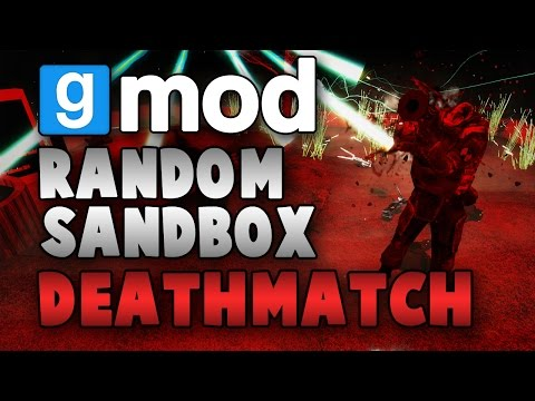 deathmatch - While waiting to run a spooky scary map...Ohm, Diction, and I participate in an impromptu random sandbox deathmatch amongst one another and spawn all sorts for random shit and things get crazy!...