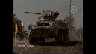 Украинский и американский БТРы в Эмиратах.