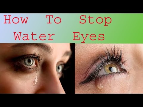 How To Stop Water Eyes | Health Issue