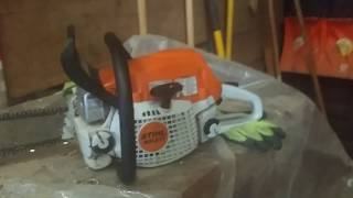 3. Trouble with the stihl ms 271 farm boss