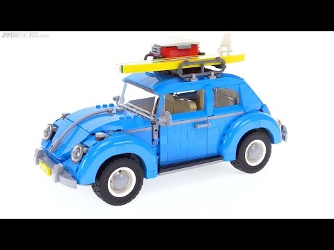 LEGO Creator Volkswagen Beetle review! 10252