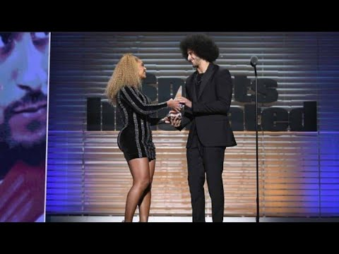 Beyonce's Speech at the  Muhamad Ali Legacy Award to Colin Kaepernick - Against Racism