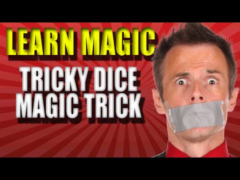 Learn To Do Magic Tricks Tricky Dice