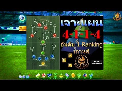 เจาะแผนและแท็คติก 4-1-1-4 ของอันดับ 1 Rank 1vs1 เกาหลี FIFA ONLINE 3