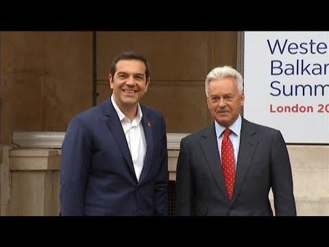 Στο Λονδίνο ο Πρωθυπουργός για την 5η Σύνοδο Κορυφής των Δυτικών Βαλκανίων