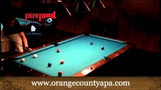 Andy Mercer 9 Ball / Shane Van Boening Vs Joey Chin / March 2013