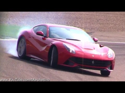 فيراري درفت - Ferrari F12 Berlinetta DRIFT and Accelerations