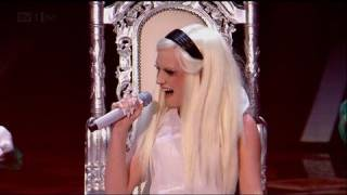 It's Oh So Quiet for Kitty Brucknell - The X Factor 2011 Live Show 2 (Full Version)