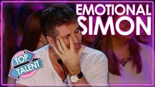 Emotional Auditions That Made Simon Cowell Cry   Top Talent