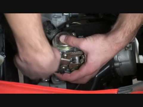 How To Clean A Carburetor On A MF 50 QT7 Part 1 Of 3