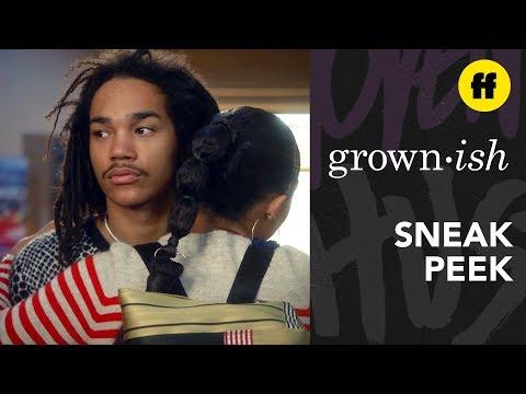 grown-ish Season 2, Episode 13 | Sneak Peek: Luca Isn't Buying Zoey's Apology | Freeform