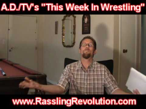 """This Week In Wrestling"" Episode 4 Part 1 of 3 A.D./TV (With Bobby Black From The U2C)"
