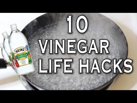 10 Awesome Vinegar Life Hacks you should know.