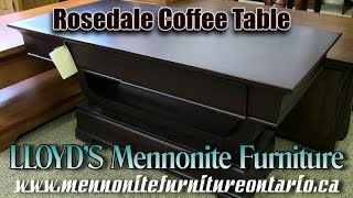 Mennonite Rosedale Coffee Table
