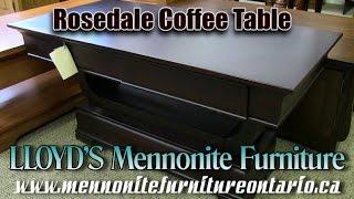 Mennonite Rosedale Coffee Table