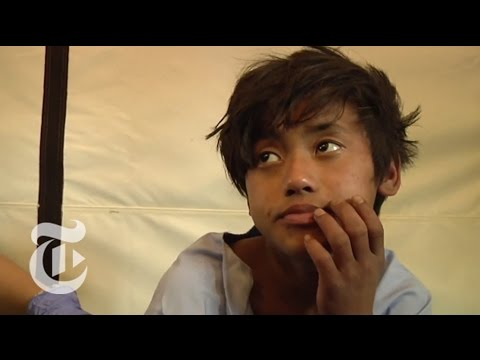 Nepal Earthquake Survivor on Being Trapped for Days | The New York Times