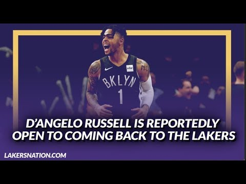 Video: Lakers NewsFeed: Lakers Targeting D'angelo Russell Who Reportedly Is Open to Returning