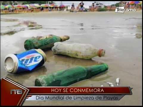 Hoy se conmemora día mundial de limpieza de playas