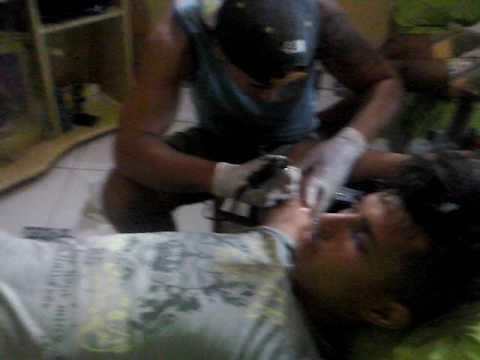 Tatuador de contendas do sincorá Bahia