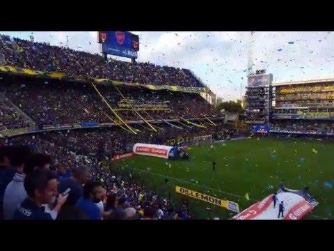 Boca 3 Rafaela 0 2016, El que no salta se fue a la B [4K] - La 12 - Boca Juniors - Argentina - América del Sur