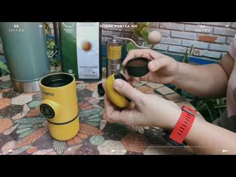 Hướng dẫn pha cà phê Nanopresso
