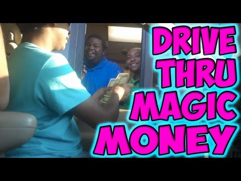 Drive Thru Magic Money