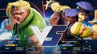 My first ranked match for the latter half of 2017.The funny part here is that I botched my CA combo by not moving forward as I was expecting that it will hit pronto, yet it connected as my opponent kicked the tornado anyway and got full damage because of it.